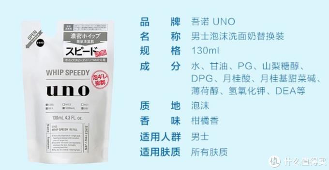男人也要对得起咱这张脸!资生堂(Shiseido)旗下UNO吾诺男士洗护产品大盘点