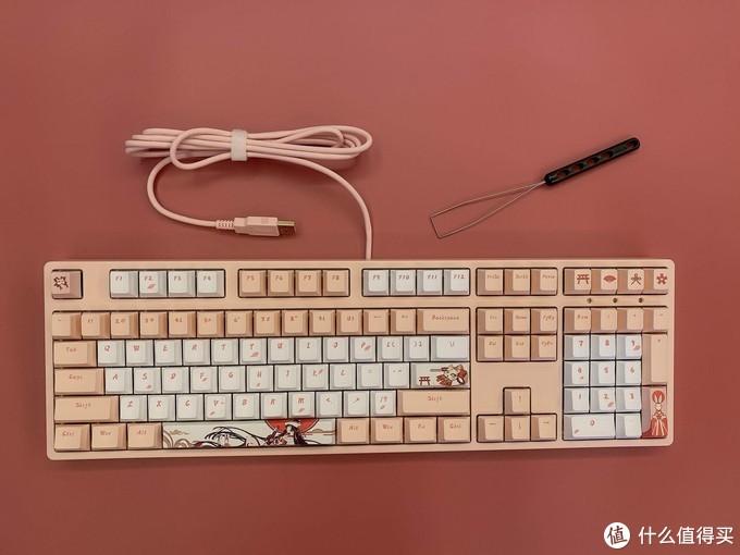 白无垢?萌猫爪?ikbc樱花键盘和zomo猫爪键帽更配!