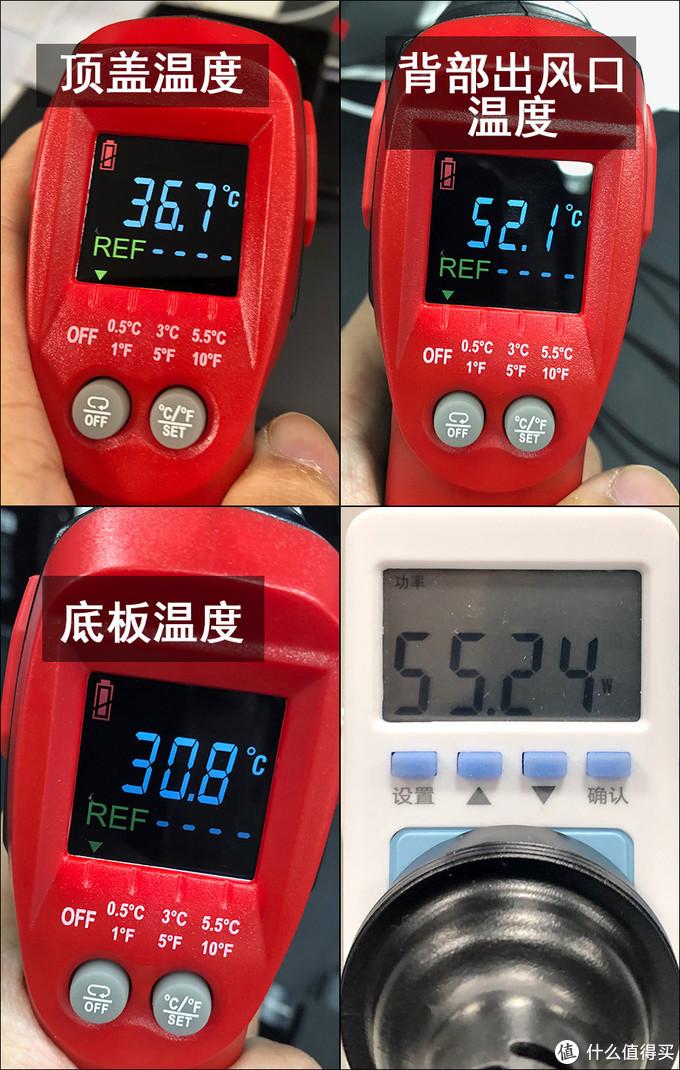 温度及功耗测试