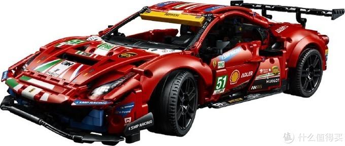 欢迎来到乐高世界:乐高2021年全新科技旗舰公布,法拉利488 GTE EVO!!!