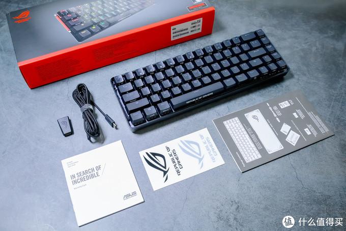 紧凑68键+RGB神光同步,ROG魔导士双模无线机械键盘尝鲜体验