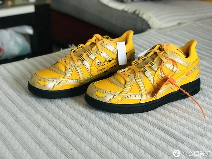 Off White&Nike专属开箱,知道我中了童鞋给我凑双亲子款?