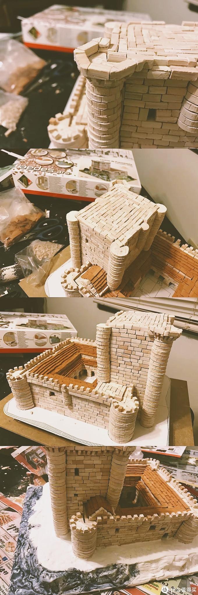 城堡的建造过程