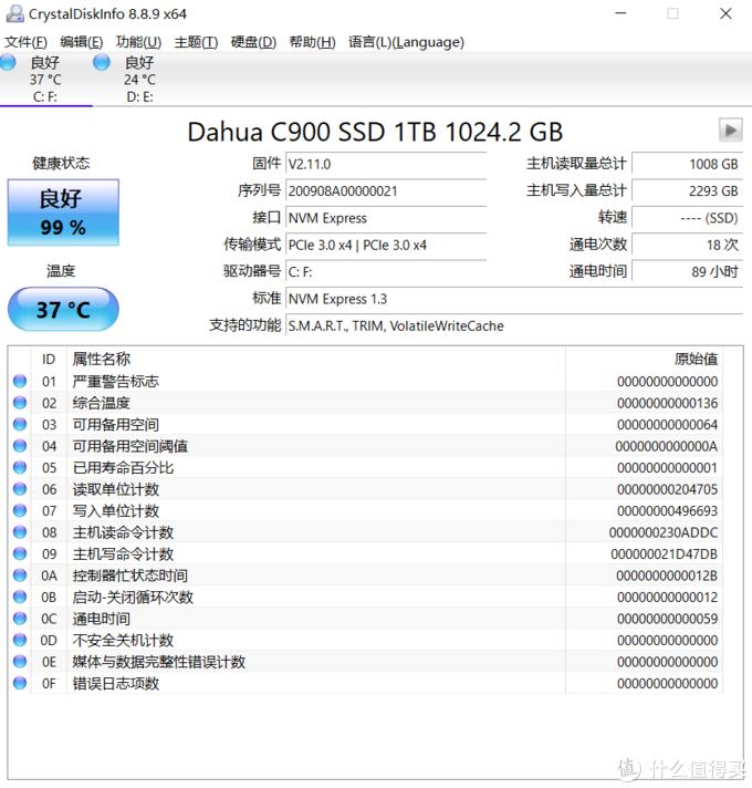 用了四年的惠普暗影精灵II,硬盘升级国产M.2 NVMe SSD,性价比值得肯定