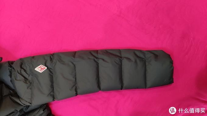 黑冰F8182长款羽绒服开箱体验