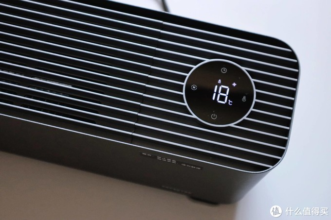 有小爱加持的优雅升温方式,米家踢脚线电暖器1S