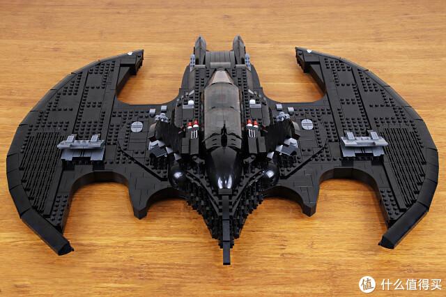 钞能力老爷的蝙蝠战机,LEGO 76161《蝙蝠侠1989》