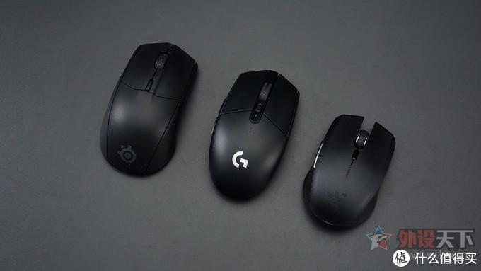 """三大厂""""文武双全""""的无线游戏鼠标对比"""