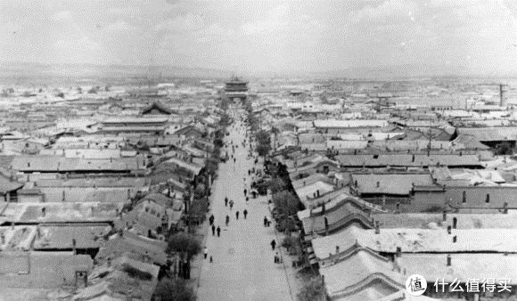 1950年代的大同,南小街附近