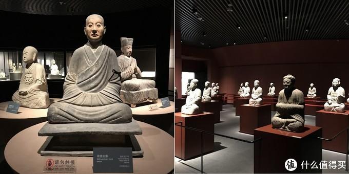 金代高僧坐像和历代佛像