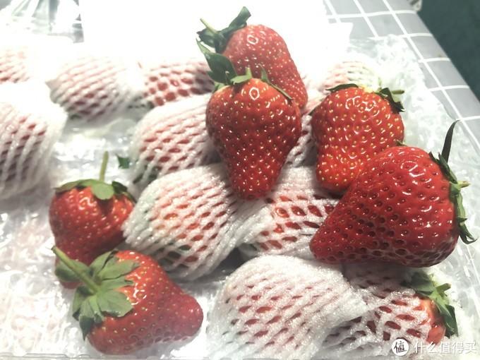 草莓个头挺大的