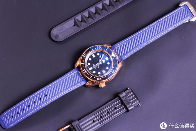 一抹迷人的幽蓝:我的第一块青铜手表-PROXIMA