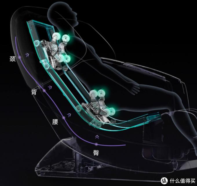 小米有品众筹智享未来按摩椅:3D仿人手 全身推拿