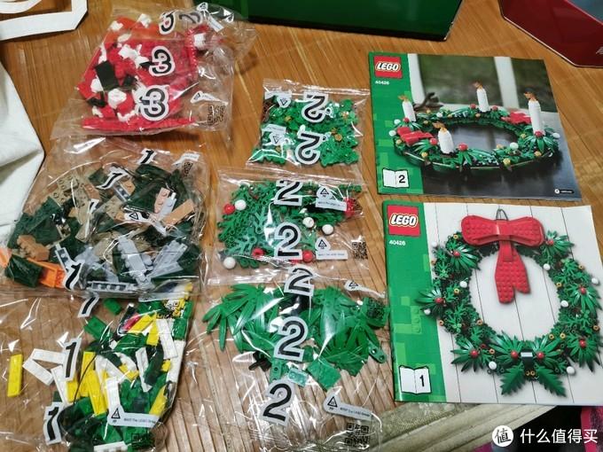 乐高40426圣诞节花环