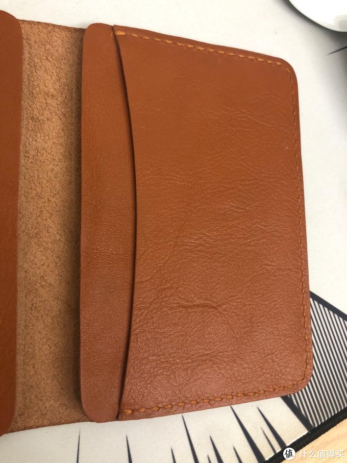 双十一剁手的手工制作的牛皮真皮套护照包晒单