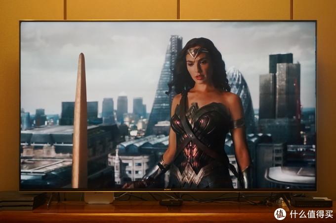 "X9000H使用图像模式为""电影模式"""