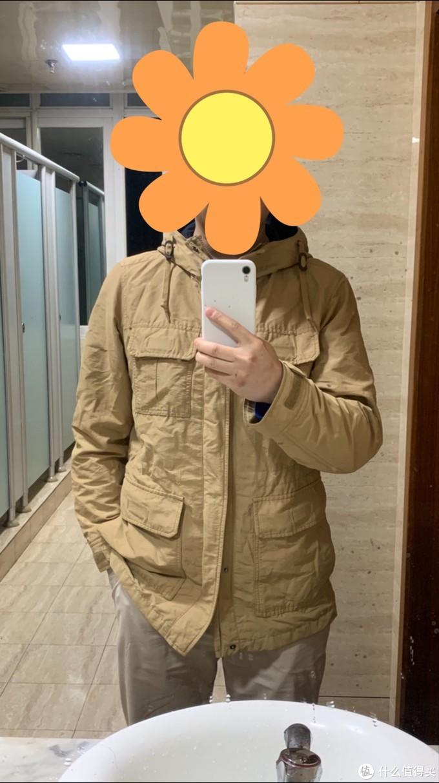 图书馆猿の捡垃圾 优衣库外套 简单晒
