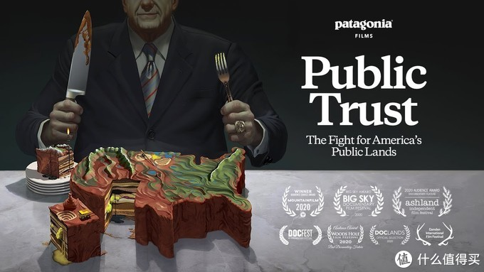 9月Patagonia发布的电影《Public Trust》,看封面就秒懂主题吧~