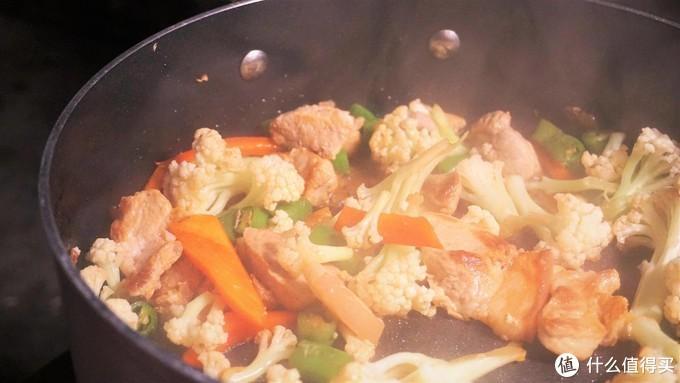 暖男的深夜食堂,做饭店一个味道的干锅花菜