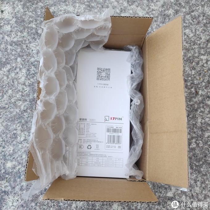 包装很简单,气泡膜包覆这本体。