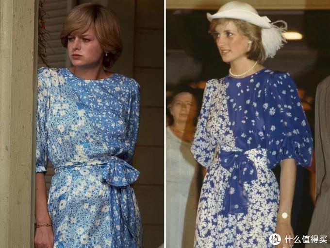都说《王冠》造型神还原,我却觉得黛安娜本尊穿搭更厉害!