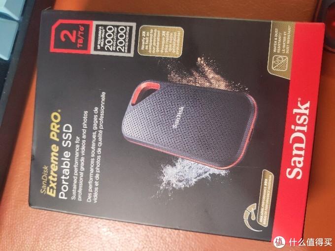 SanDisk 闪迪 至尊超极速 Pro版 NVMe 移动固态硬盘E8