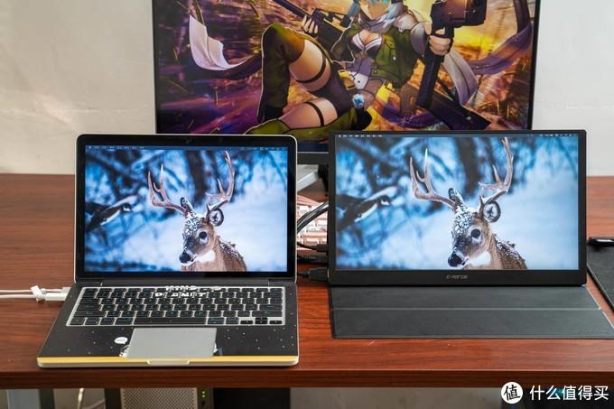 MacBook屏幕太小?我的CFORCE便携屏分屏工作流简单介绍