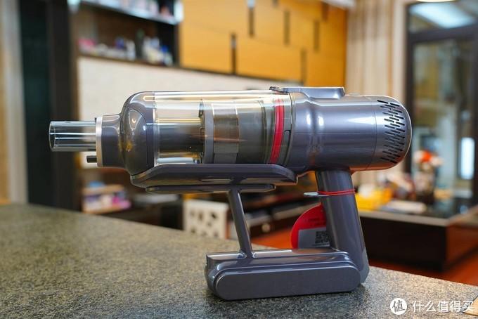 吸拖一体、智能感应灰尘--小狗新款T12 Pro手持吸尘器体验