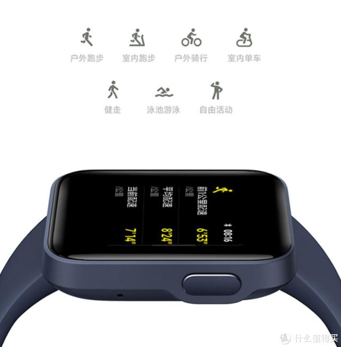 Redmi Watch智能手表今晚0点开售,12天续航、1.4英寸大屏、内置NFC支持小爱同学