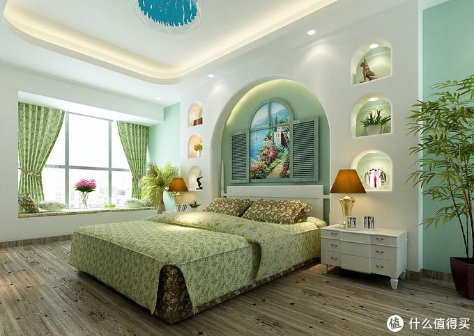 老婆把我们的137㎡新房,装修成地中海田园风,绿色做主色调很耐看