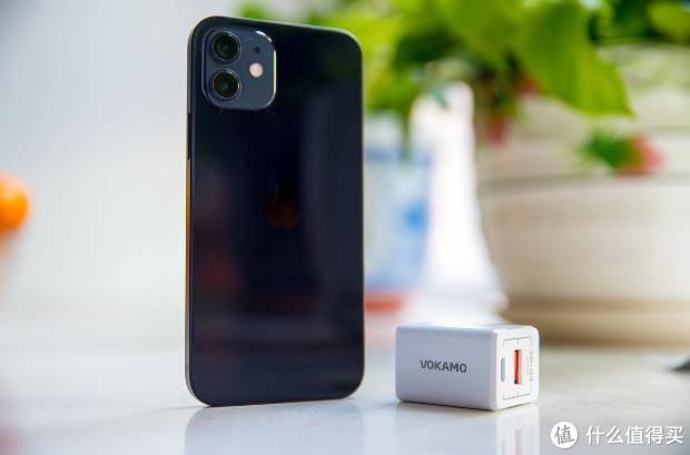 iPhone12充电20分钟48%——VOKAMO Spow 20W快充