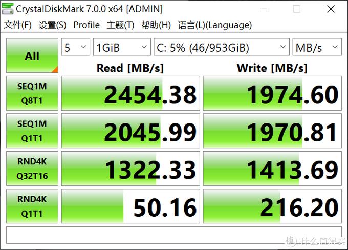 固态硬盘测速