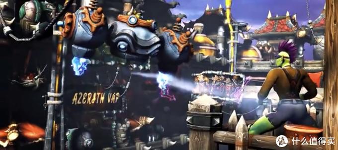 重返游戏:国外大触制作《魔兽世界》版《赛博朋克 2077》预告片