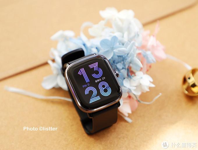 喜爱mini款智能手表的有福了,华米这款mini智能手表真香