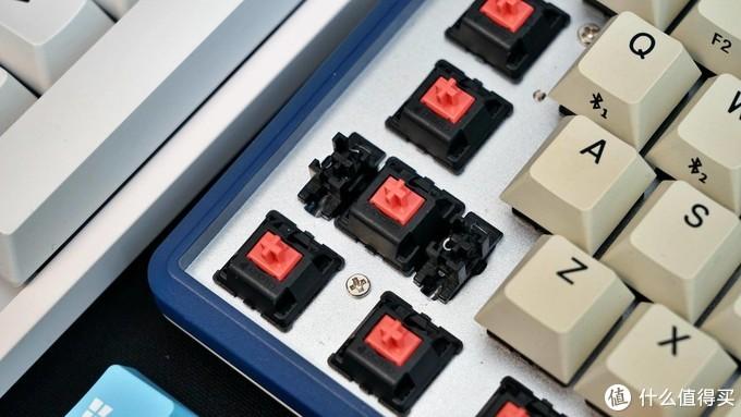 樱桃银轴与静音红轴的区别,两款杜伽机械键盘的使用对比