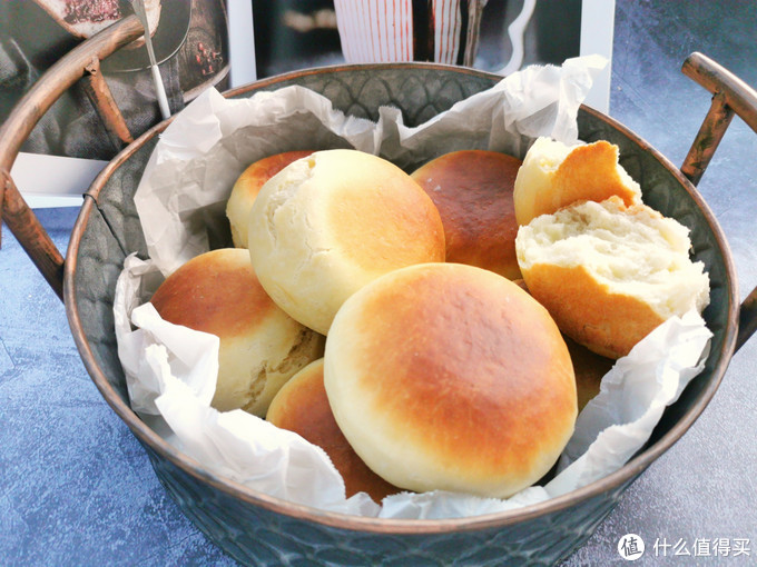 最好吃的中式面包,1碗面粉3个鸡蛋,不用水和面,不用烤箱也能做