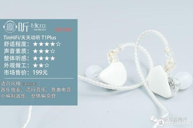 金玉其中:TinHiFi/天天动听T1Plus入耳式耳机测评
