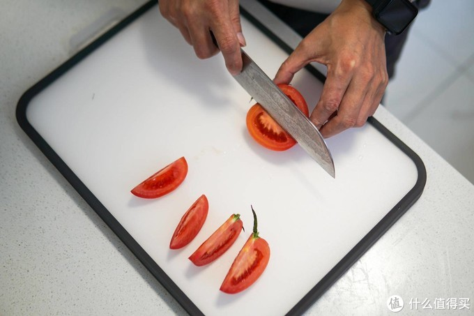 「开箱」搬砖小米有品厨具,不锈钢双面砧板+刨丝器,你猜多少钱