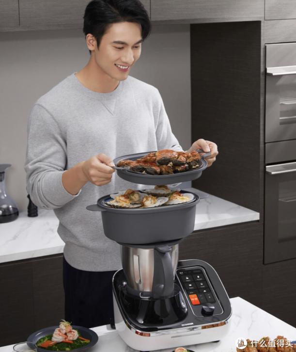 小米有品上架做饭神器:7英寸大屏 会说话会做饭