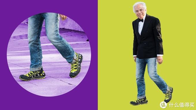 Ralph Lauren上脚,能说丑吗,能,摘自GQ