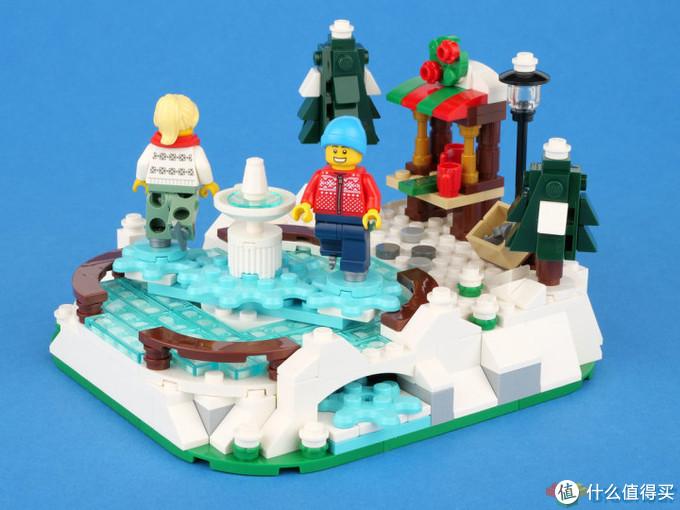 乐高12月赠品40416溜冰场开箱评测