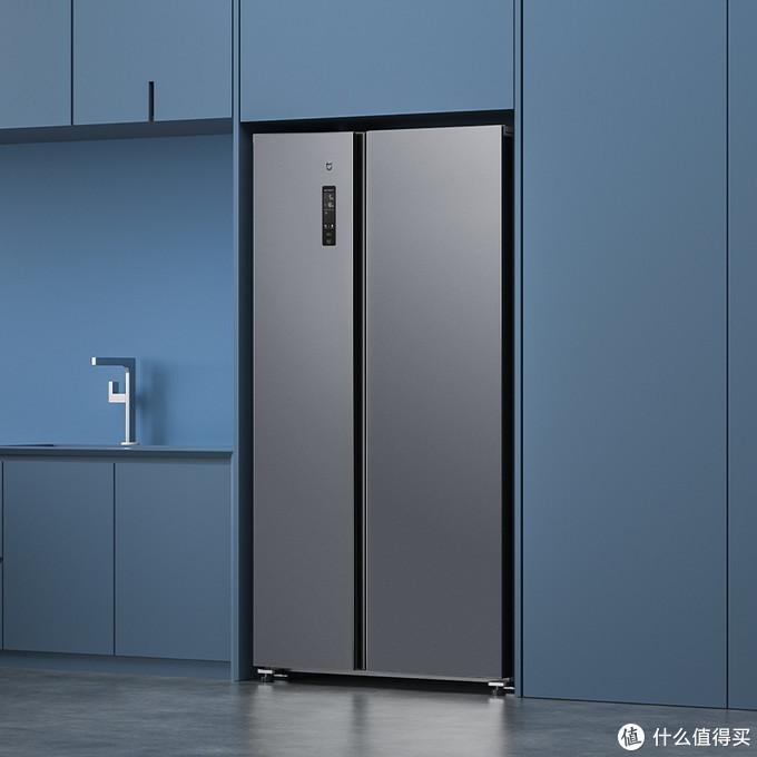 米家互联网对开门冰箱540L新品发布 售价2999元 小米人体传感器2同期众筹