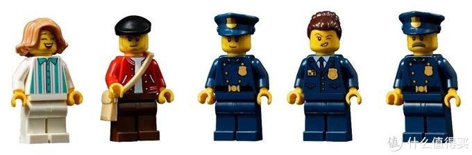 甜甜圈失窃!是谁犯下这震惊警方的惊天大案?乐高2021年新街景10278警察局已就位,一起破案吧