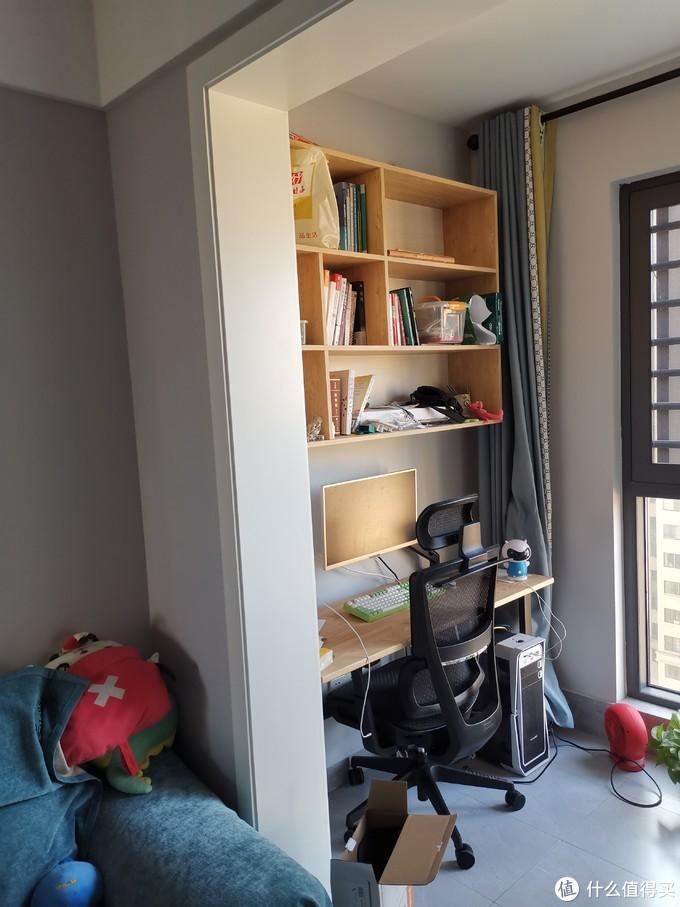改造后,请无视乱糟糟、还未来得及整理的书架