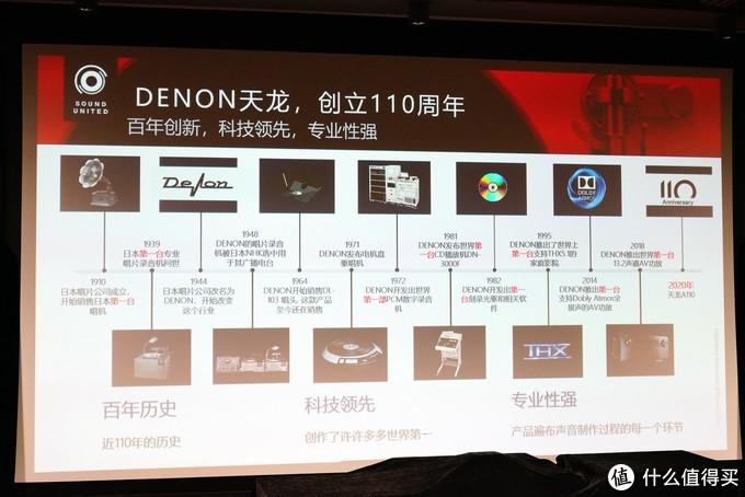 音传世界110年——DENON(天龙)110周年纪念版新品发布