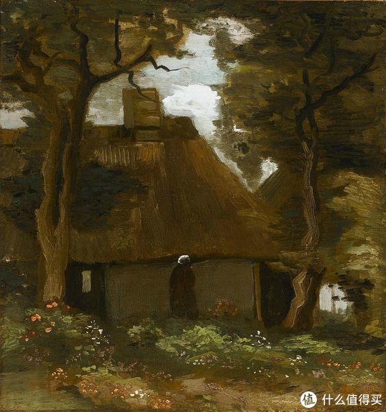 La Chaumière sous les Arbres by Vincent van Gogh