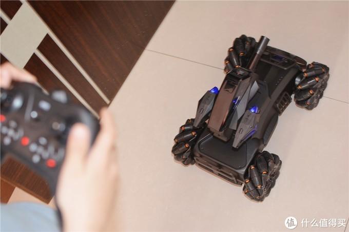 小米爆风主义遥控互动机甲:秒回童年时光,机械感无敌酷炫