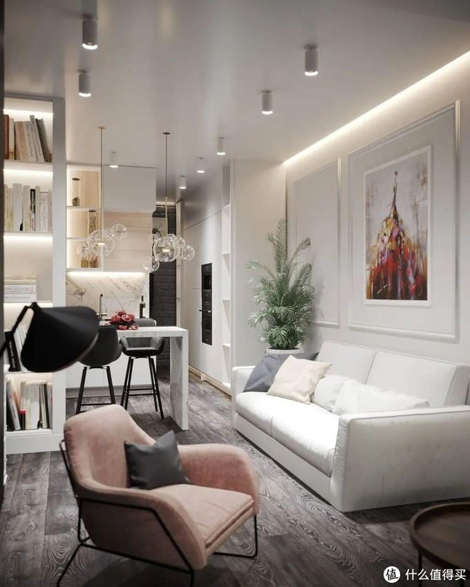北漂一族的26㎡公寓,看职场OL女士,如何化腐朽为神奇