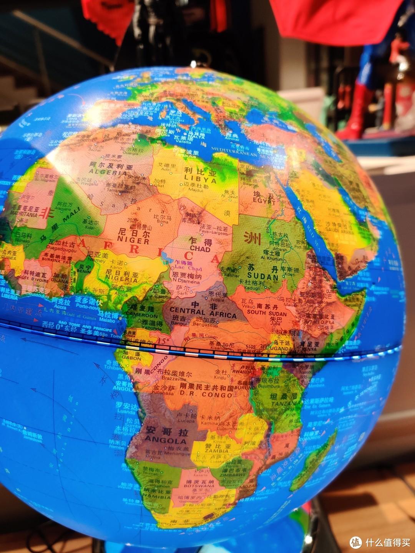 双十一我买个球:M&G 立体浮雕30CM地球仪购买及退换货经历分享
