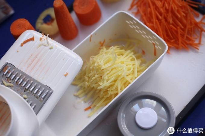好用的厨房小物件之火候刨丝切片器测评